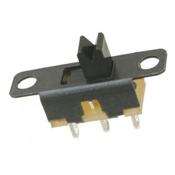 Miniature Slide Switch  - Pack of 5 - 19mm Long, 5.6mm Wide, 5mm High